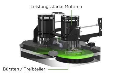 Bürsten-Scheuersaugmaschine
